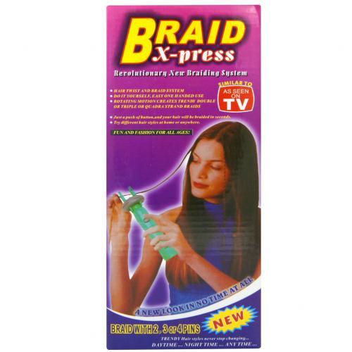 Прибор для плетения косичек Braid X-Press оптом