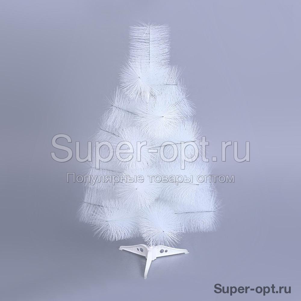 Новогодняя ёлка белоснежная оптом (90 см)