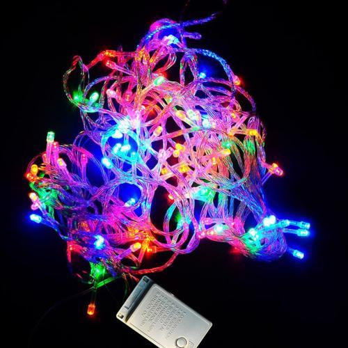 Светодиодная гирлянда LED 200L Multi (17 м) оптом