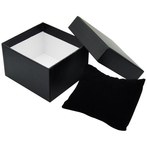 Картонная коробка для часов с подушкой оптом
