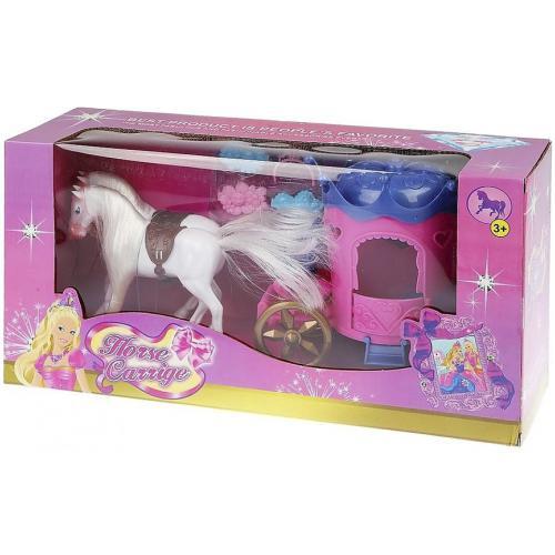 Игрушка карета с лошадьми Horse Carriage оптом