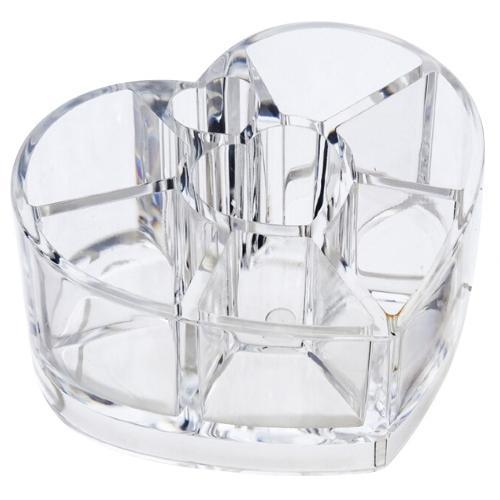 Органайзер для косметики Cosmetic Organizer в форме сердца оптом