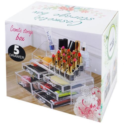 Органайзер для косметики Cosmetic Storage Box 5 ящиков оптом