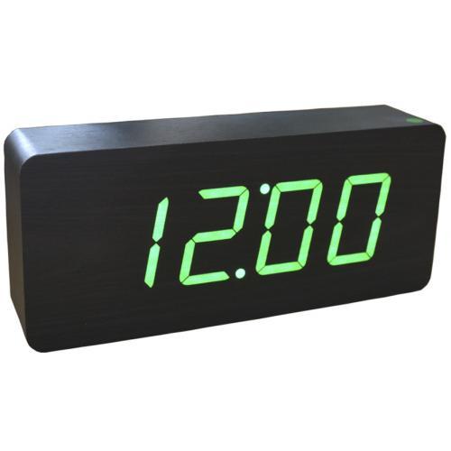 Настольные электронные часы с зеленой подсветкой оптом