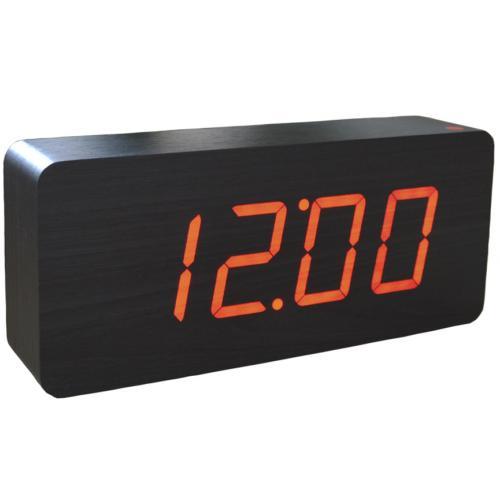 Настольные электронные часы с красной подсветкой оптом