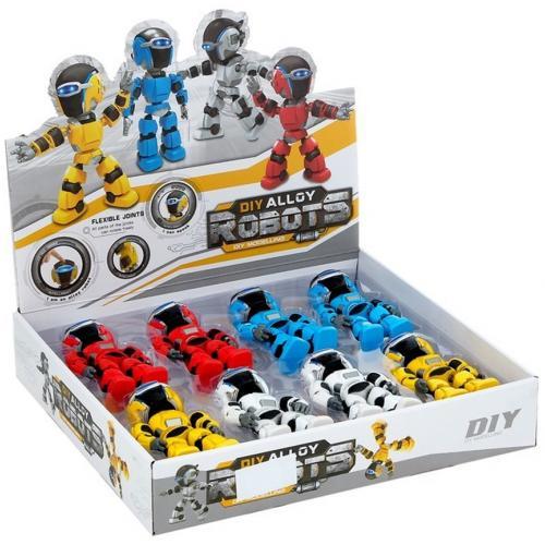 Набор говорящих роботов DIY Alloy Robots оптом