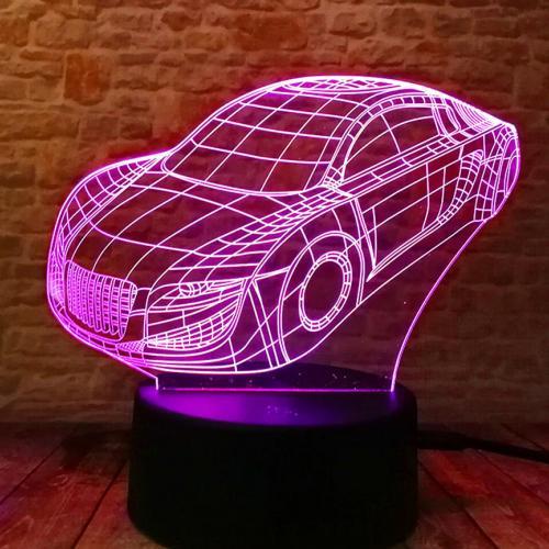 Светильник 3D Автомобиль оптом