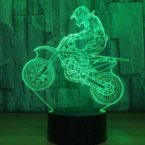 Светильник 3D Мотоцикл оптом