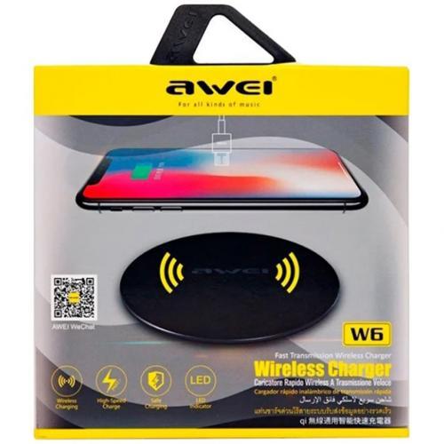 Беспроводное зарядное устройство Awei W6 оптом