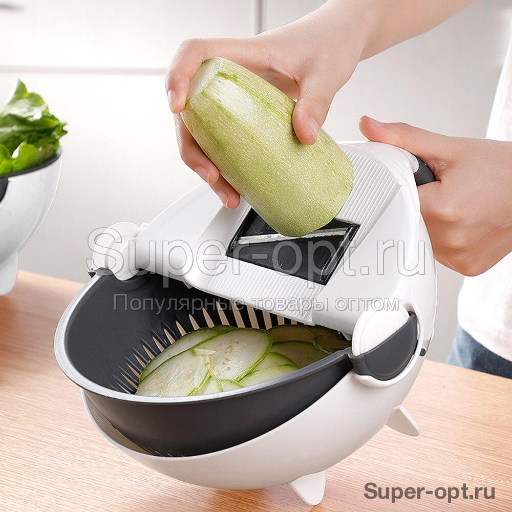 Многофункциональная тёрка-овощерезка с контейнером оптом