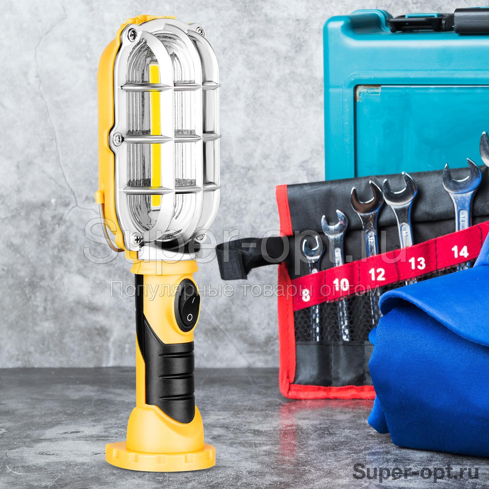 Переносной светодиодный фонарь Easy Brite, рабочая лампа с магнитом оптом