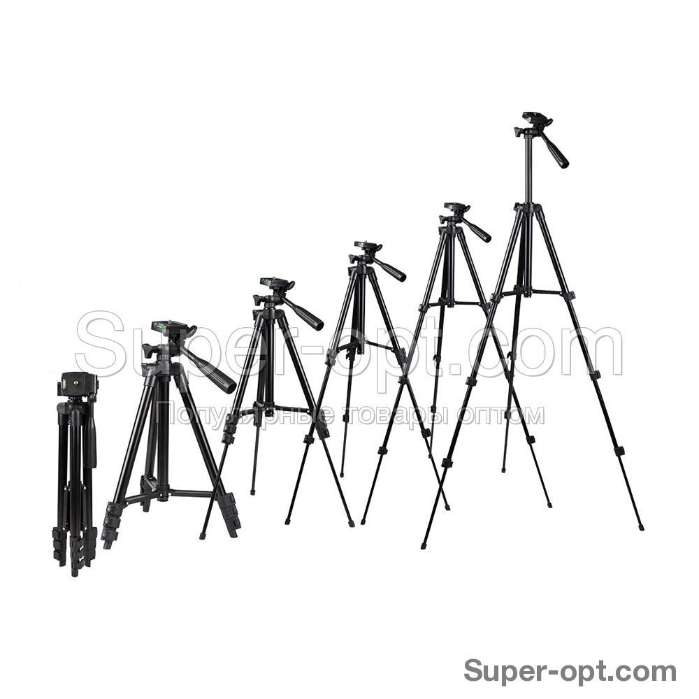 Штатив для камеры и телефона Tripod 3120 оптом