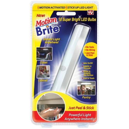 Беспроводной LED светильник с датчиком движения Motion Brite оптом