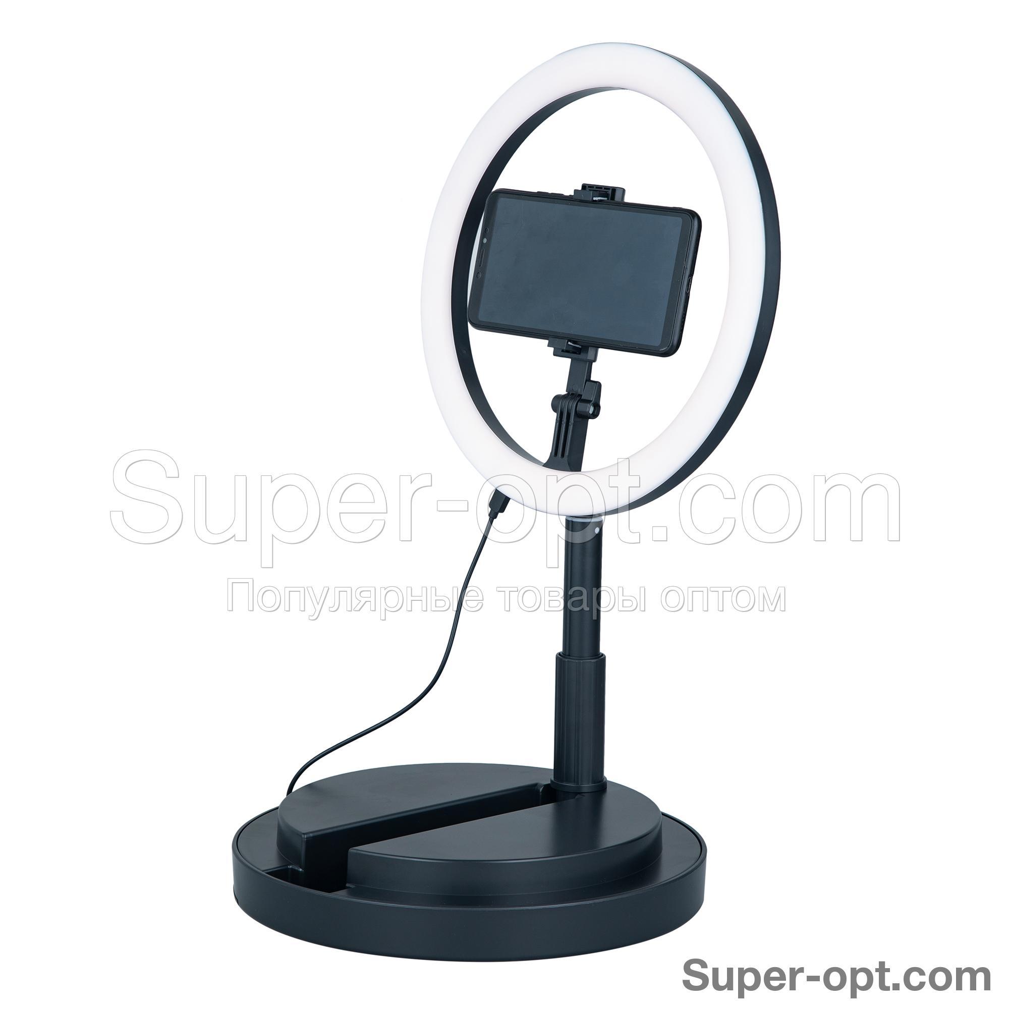Кольцевая лампа Live Beauty Light 29 см оптом