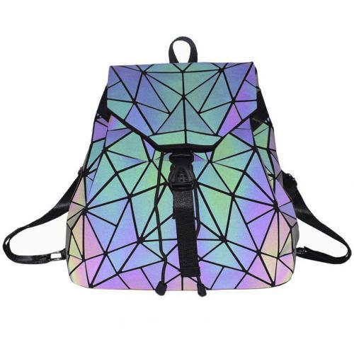 Голографический рюкзак Хамелеон цветной оптом