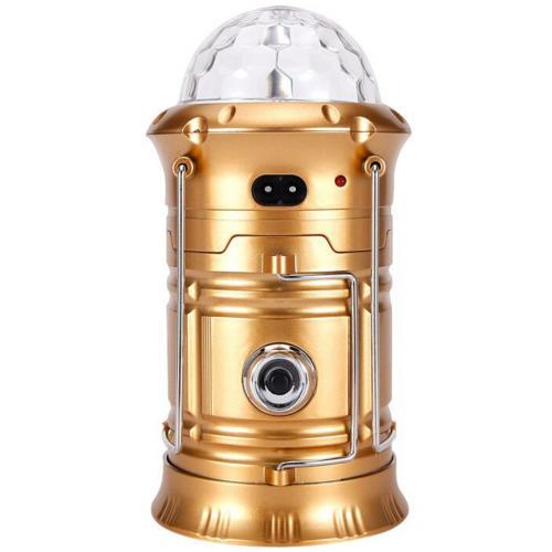 Кемпинговый фонарь с диско шаром оптом
