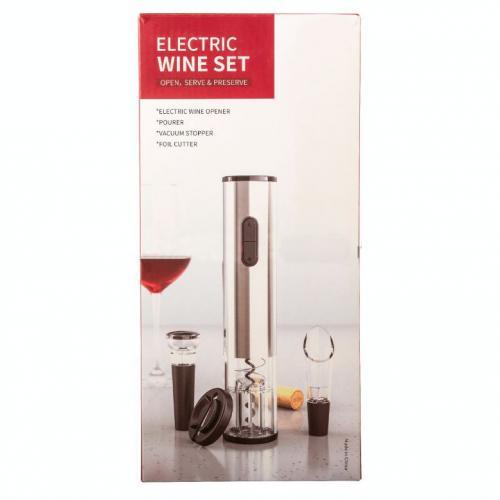 Набор с электрическим штопором Electric wine set оптом