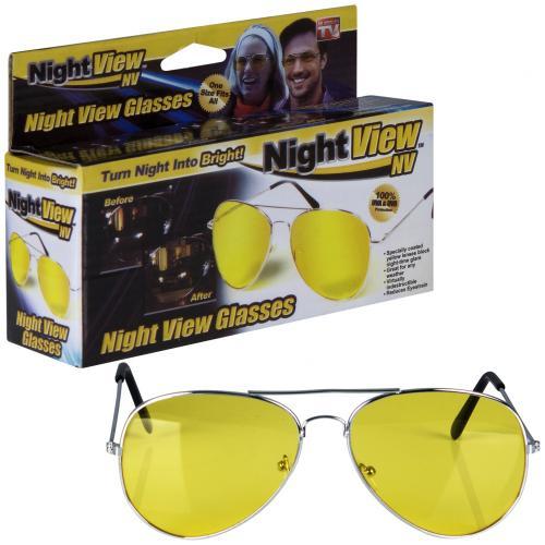 Очки для вождения ночью Night View оптом