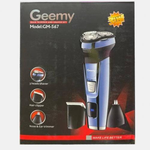 Беспроводная бритва - триммер 3 в 1 Geemy GM-567 оптом