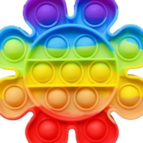 Игрушка антистресс Цветок Pop it оптом