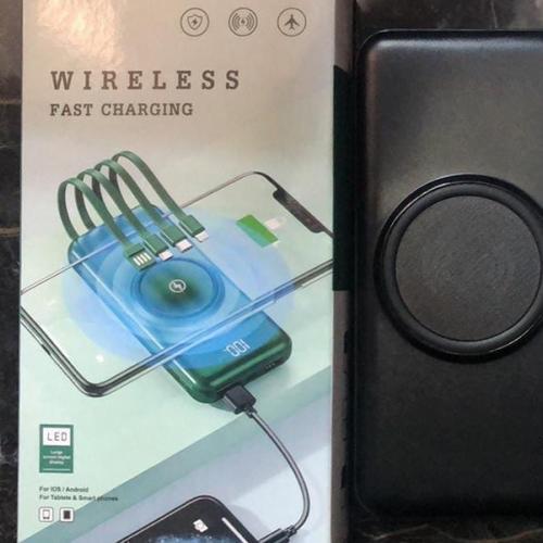 Беспроводной внешний аккумулятор для телефона 20000 мАч оптом