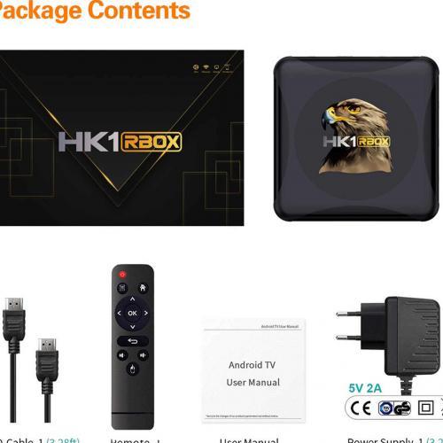 Телевизионная медиа приставка TV Box HK1 RBOX оптом
