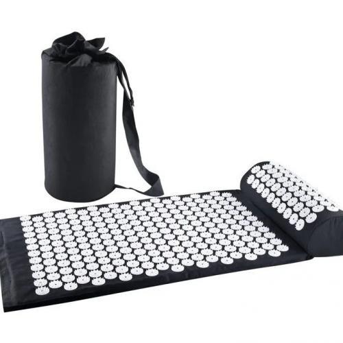 Массажный коврик акупунктурный с валиком оптом