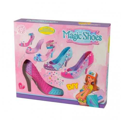 Игровой набор для моделирования обуви Magic Shoes №2 оптом