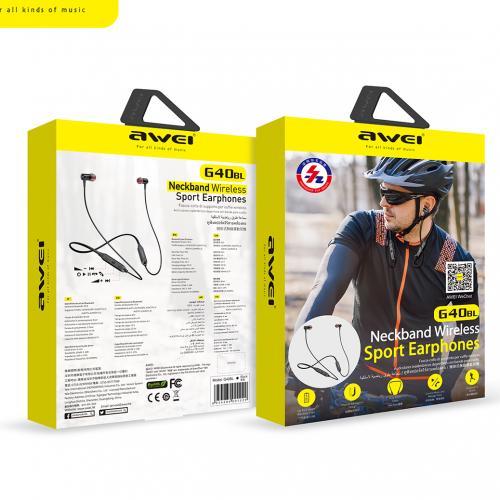 Беспроводные наушники Awei G40BL Sports оптом