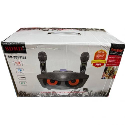 Караоке система с двумя микрофонами SDRD SD-306 Plus оптом