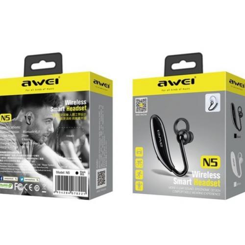 Bluetooth гарнитура для вождения Awei N5 оптом