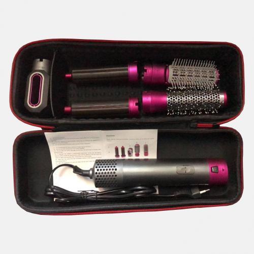 Мульти прибор для волос 5 в 1: стайлер, фен, плойка, щётка, расчёска оптом