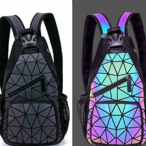 Люминесцентный рюкзак Хамелеон оптом