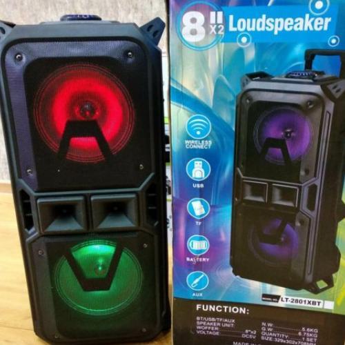 Портативная Bluetooth колонка LT-2801XBT с микрофоном оптом