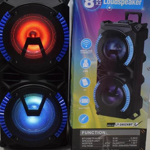 Портативная Bluetooth колонка LT-2802XBT с микрофоном оптом