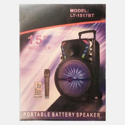 Портативная Bluetooth колонка LT-1517BT с микрофоном оптом