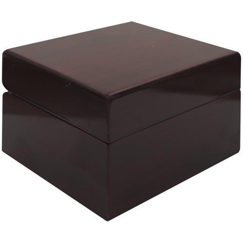 Лакированная деревянная коробка для часов оптом