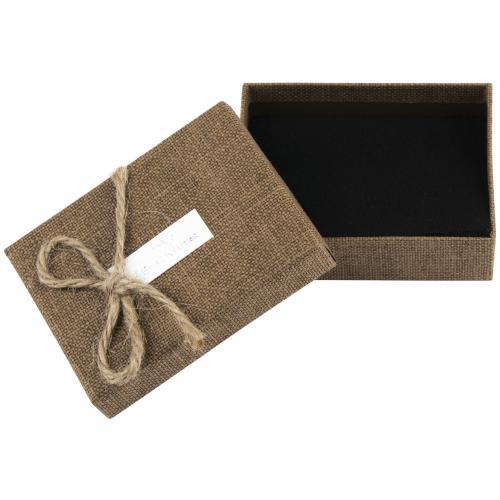 Коробка для бижутерии с узелком оптом
