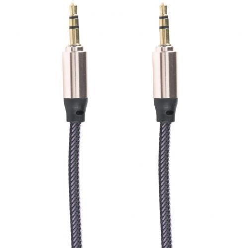 Аудио кабель AUX плетеный 3.5 мм оптом