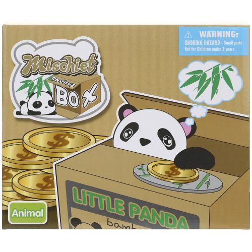 Интерактивная копилка Mischief Saving Box Little Panda оптом