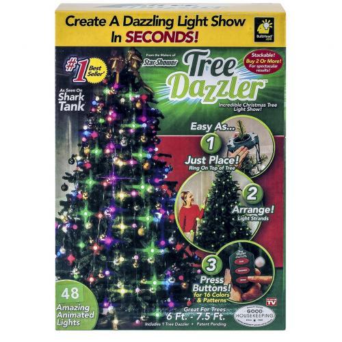 Конусная гирлянда Tree Dazzler 48 лампочек оптом