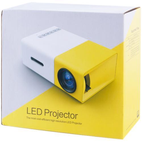 Мини LED проектор YG300 оптом