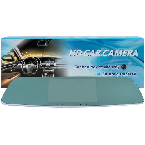 Зеркало-видеорегистратор HD Car Camera с камерой заднего вида оптом