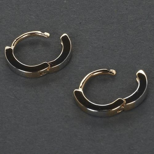 Серьги-кольца с застежкой конго оптом