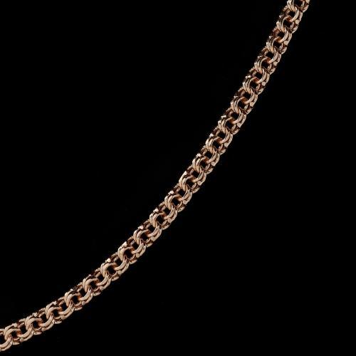 Цепочка с плетением Гарибальди оптом