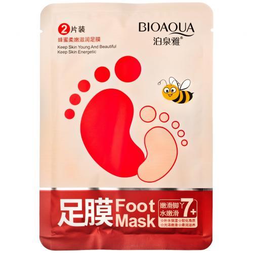 Медовая маска для ног Bioaqua 1 пара оптом