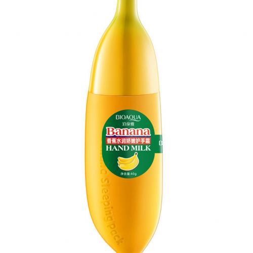 Смягчающий крем для рук Bioaqua с ароматом банана 40 гр оптом