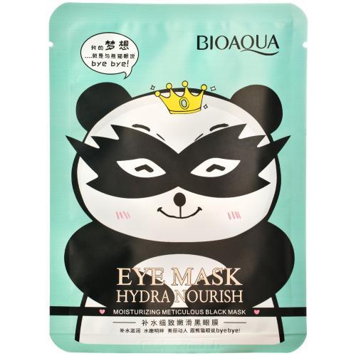 Тканевая маска для кожи вокруг глаз Bioaqua Hydra Nourish снимающая усталость 15 гр оптом