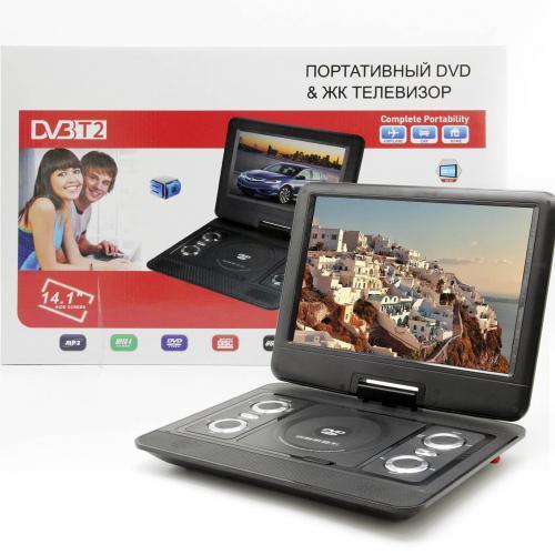 DVD плеер Eplutus LS-130T с TV-тюнером DVB-T2 оптом