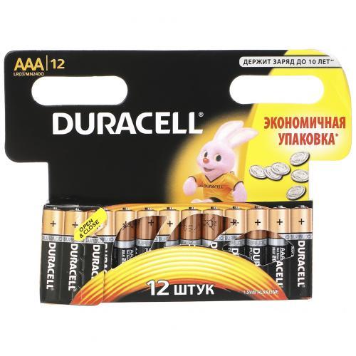 Батарейки Duracell AAA мизинчиковые 12 шт оптом